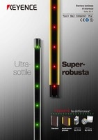 Serie SL-V Barriera luminosa di sicurezza di tipo 4 Catalogo
